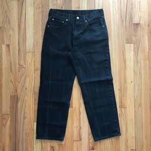 VTG LEVI'S 550 EUC Tapered Black Mom Jean Size 10